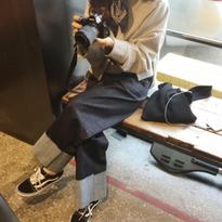 <4月30日限定販売>dark denim pants
