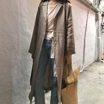 <4月30日限定販売>linen long coat