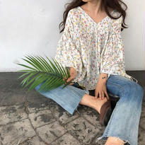Flower tunicblouse