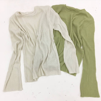 see-through knit