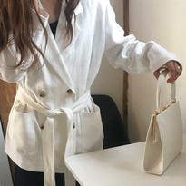 <4月30日限定販売>linen jacket