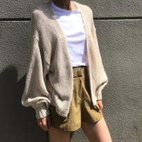 <数量限定再入荷>summer knitcardigan