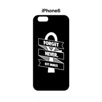 RIbbon Ankh iphone6 case (Black)