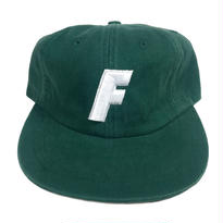 """F"" Logo Ball Cap ( Ivy Green )"