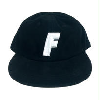 """F"" Logo Ball Cap ( Black )"