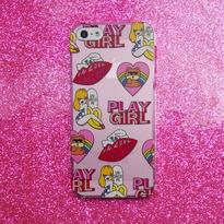 'PLAY GIRL' iPhoneSE/5S/5専用ケース