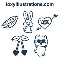 foxy Tattoo Sticker