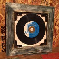 Handmade Vinyl Frame #13