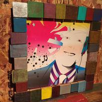 Handmade Vinyl Frame #10