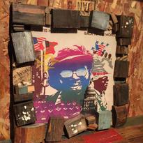 Handmade Vinyl Frame.1