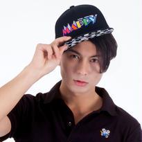 マッピー (MAPPY)  Snapback Cap (BLACK)