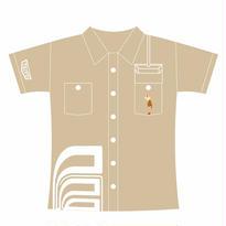 エレベーターアクション 〜Working Shirt〜 (カーキ)