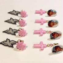 [BENICOTOY] ピンクシリーズ -とり&クロス-