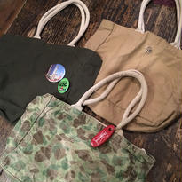 [SELECT] MILITARY  CANVAS  TOTE