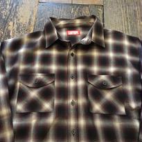 [USED] 渋色Checkシャツ