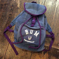 "[USED] 80~90's ""B.U.M equipment"" COTTON リュック"