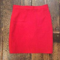 [USED] 赤のニットタイトスカート