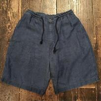 [USED] デニム風 LINEN パンツ