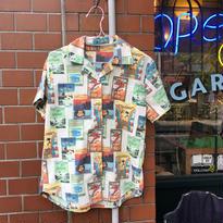 [used] 小さめ アロハ 柄なシャツ〜!
