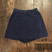 [USED] DENIM 巻きスカート風ショートpants