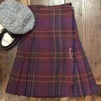 [USED] 秋カラー 巻きスカート