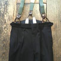 [USED] ドレスパンツ!サスペンダーボタン付き