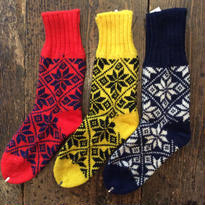 [SELECT] WOOL 雪柄  SOX  DEADSTOCK