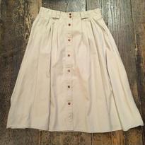 [USED]  前ボタン LONG チノスカート