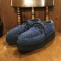 [USED] BLUE SUEDE ラバーソール