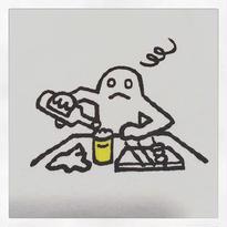 [BENICOTOY] ひとひと君 やけ酒tee