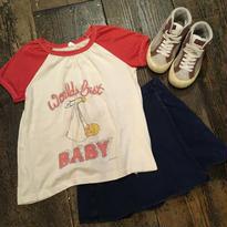 "[USED] vintage ""Worlds Best BABY"" ラグランTee"