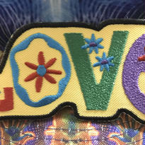 Psychedelic love patch