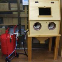 木製集塵ボックス