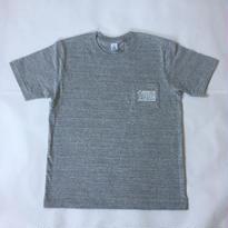 「GOSSTTE TAPE ANALOGAUDIO」ロゴTシャツ(霜降りグレー)