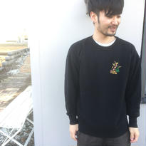 "GOOFY CREATION  「Pile loop ""Yawn"" crew sweat」"