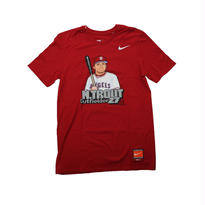 NIKE LAA TROUT #27 TEE  COOPERS TOWN COLLECTION  - size S -