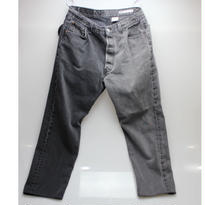 Sunny side up (サニーサイドアップ)2 FOR 1 DENIM Black type 2 - size 3 -