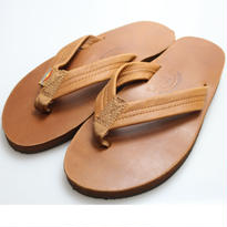 Rainbow Sandals Classic Leather Double Midsole  BROWN - M size -