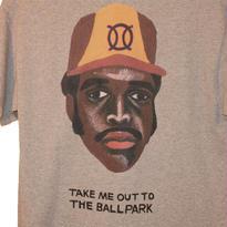 ball park pocket T  GREY TONY (TAMANIWA ×SUNTARO TAKEUCHI)