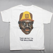 ball park pocket T  WHITE  TONY (TAMANIWA ×SUNTARO TAKEUCHI)