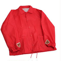 INFIELDER DESIGN   Cardinal coach jacket   RED - size M -