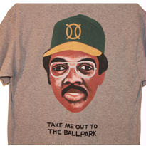 ball park pocket T   GREY JACSON (TAMANIWA ×SUNTARO TAKEUCHI)