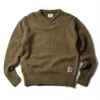 FUCT SSDD MOHAIR V NECK SWEATER OLIVE #41002