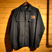 50%OFF L/S BIG FLAP WORK SHIRT BLACK[TP13-NSH10]