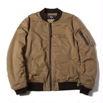 CUTRATE MA-1 TYPE JACKET BEIGE CR-16AW027