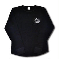 HARDEE CYCLE L/S THERMAL T-SHIRT BLACK