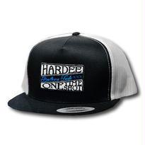 HARDEE WAPPEN MESH CAP BLACK&WHITE