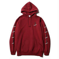 CUTRATE LOCAL PULLOVER PARKA BURGUNDY CR-17SS018