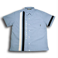 CUT RATE S/S RACING SHIRT LT.BLUE CR-16S052