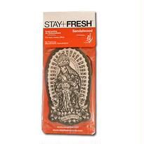 STAY+FRESH AIR FRESHENER USUGROW/SANDALWOOD